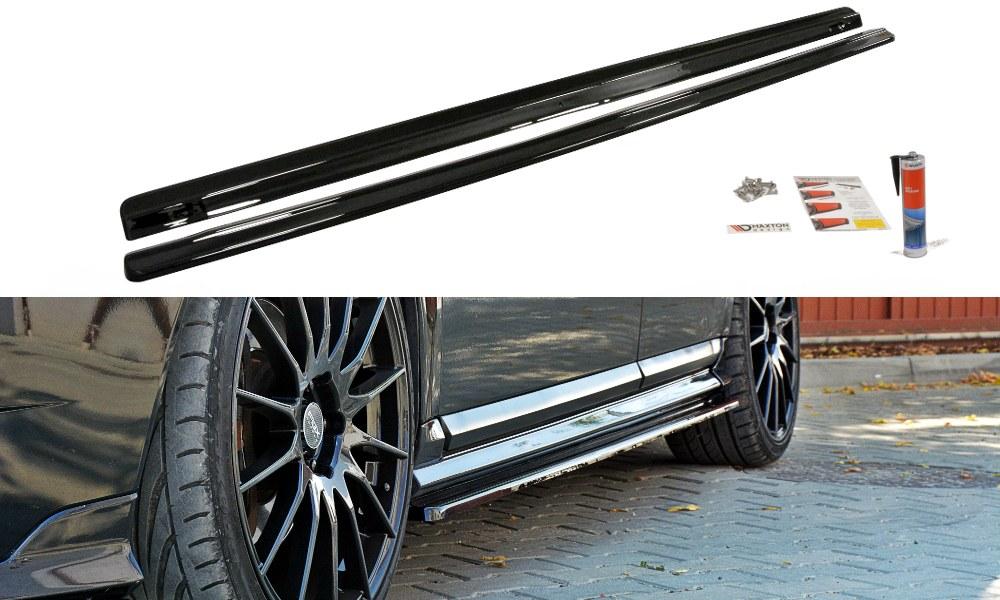 Dokładki Progów Volvo V50F R-Design - GRUBYGARAGE - Sklep Tuningowy